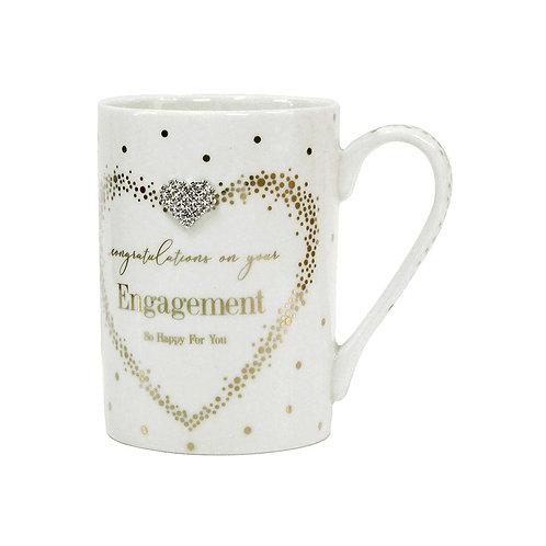 Engagement - Mad Dots Set of 2 Mugs