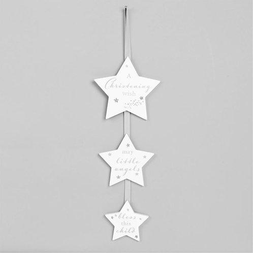 Christening Day - Triple Hanging Stars