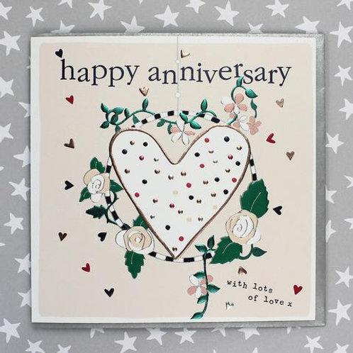 Happy Anniversary - Anniversary Card