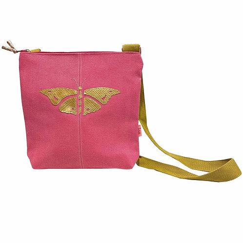 Lua - Butterfly Cross Body Bag - Pink