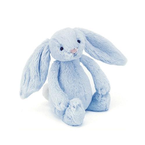 Jellycat - Bashful Blue Bunny Rattle