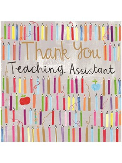 Thank You Teaching Assistant Card