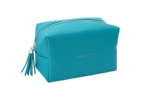 Willow & Rose Turquoise 'Fresh Faced' - Make Up Bag