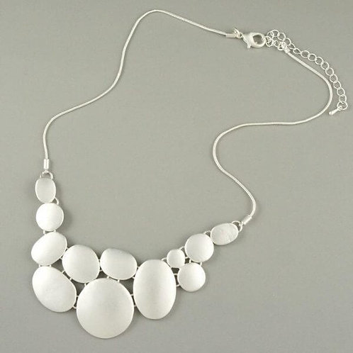 Darly - Silver Short Necklace