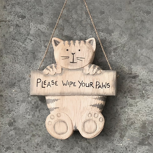 East Of India - Please Wipe Your Paws - Cat