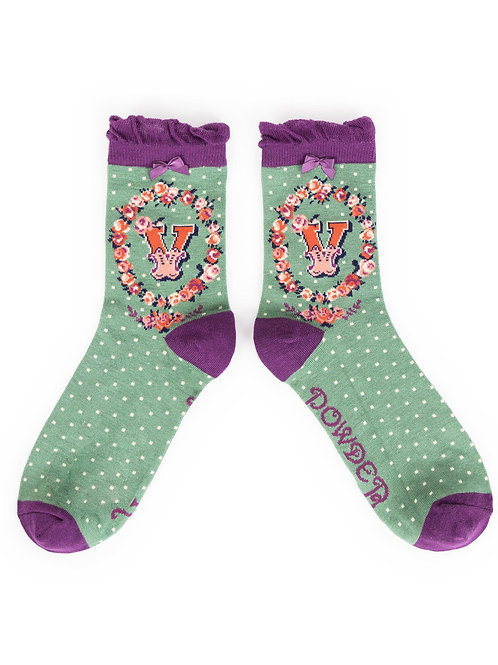 Powder UK - A - Z Socks - V