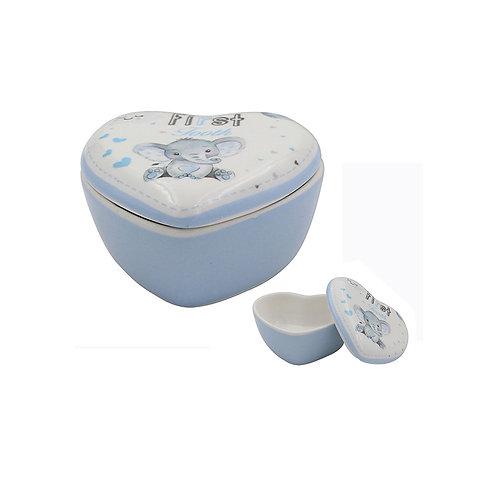 Blue - Bird & Ellie 1st Tooth Trinket Box