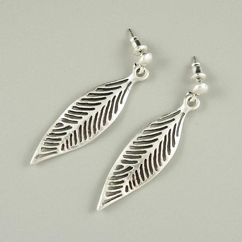 Briar - Silver Earrings