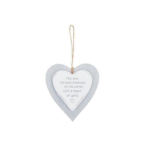 Grandad - Provence Grey Heart