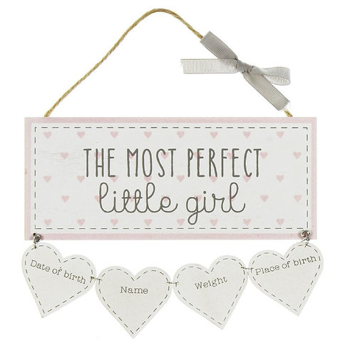 Little Girls - Personalise Yourself Plaque