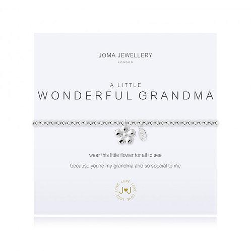 JOMA JEWELLERY - 'A Little' Wonderful Grandma Bracelet