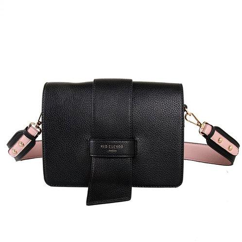 Red Cuckoo - Black Cross Body Bag