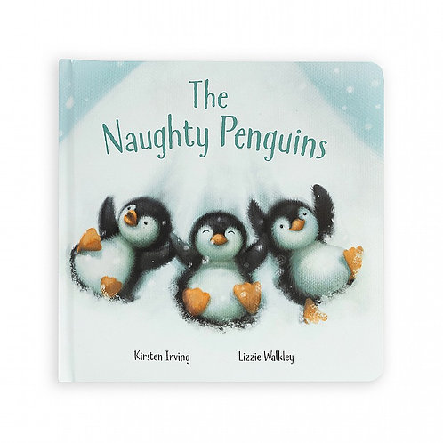 Jellycat - 'The Naughty Penguins' Book
