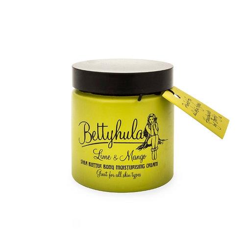 Betty Hula - Shea Butter Body Moisturiser - Lime & Mango