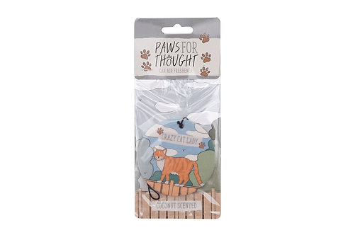 Paws For Thought - 'Crazy Cat Lady' Air Freshener