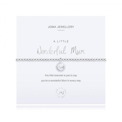 JOMA JEWELLERY - 'A Little' Wonderful Mum Bracelet