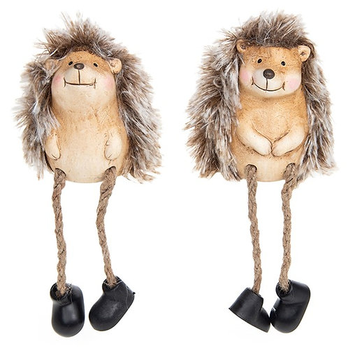 Country Life - Dangly Leg Hedgehog - Pair
