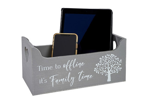 Time To Offline -  Devices Storage Crate