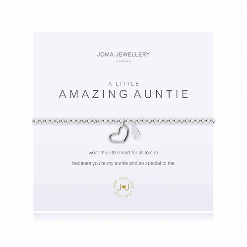JOMA JEWELLERY - 'A Little' Amazing Auntie Bracelet