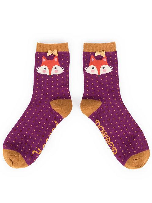 Powder UK - Fox Ankle Socks