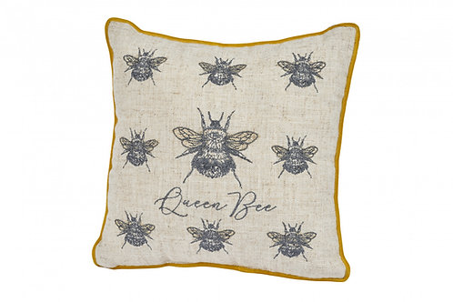 'Queen Bee' Vintage Style Cushion