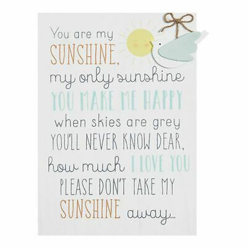 You Are My Sunshine - Large Sign