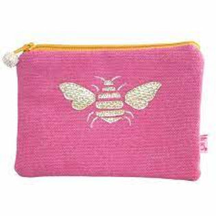 Lua - Bee Coin Purse - Pink