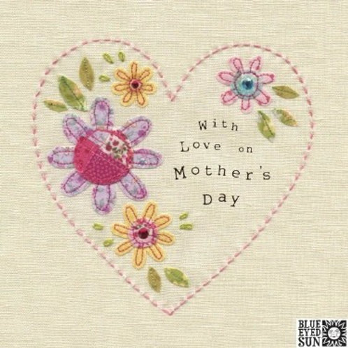 With Love On Mother's Day - Mother's Day Card