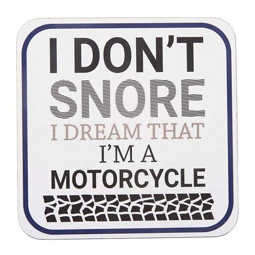 'I Don't Snore' - Coaster
