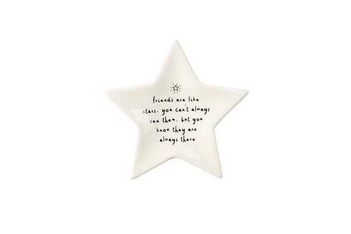 Friends Are Like Stars - Ring Dish