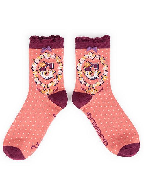Powder UK - A - Z Socks - G