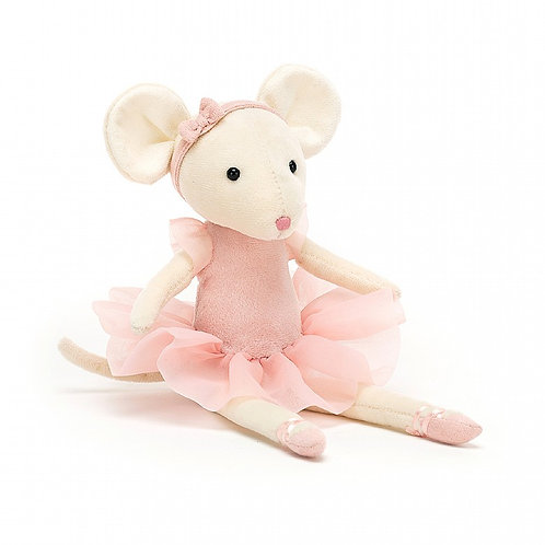 Jellycat - Pirouette Mouse - Candy