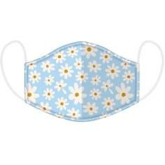 Adults Daisy Face Covering - Washable