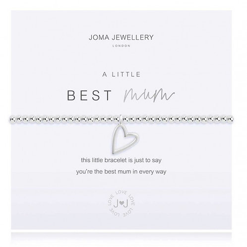 Joma Jewellery - 'A Little' Best Mum Bracelet