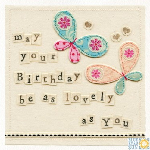 As Lovely As You - Birthday Card