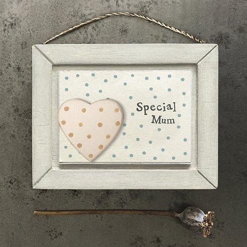 East Of India - 'Special Mum' Plaque