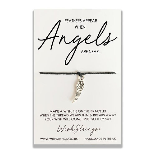WishStrings - Feathers Appear When Angels Are Near