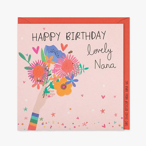 Lovely Nana - Birthday Card
