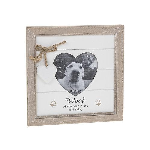 Dog - Provence Heart Frame
