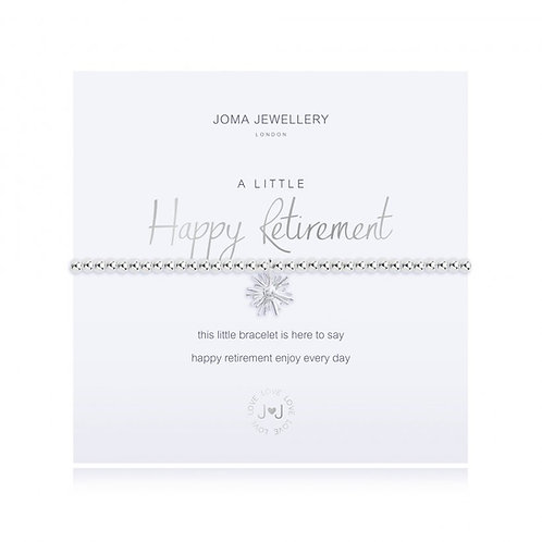 JOMA JEWELLERY - 'A Little' Retirement Bracelet