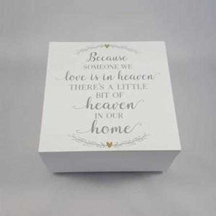 Heaven - Memory Keepsake Box