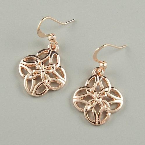 Nexus - Rose Gold Earrings