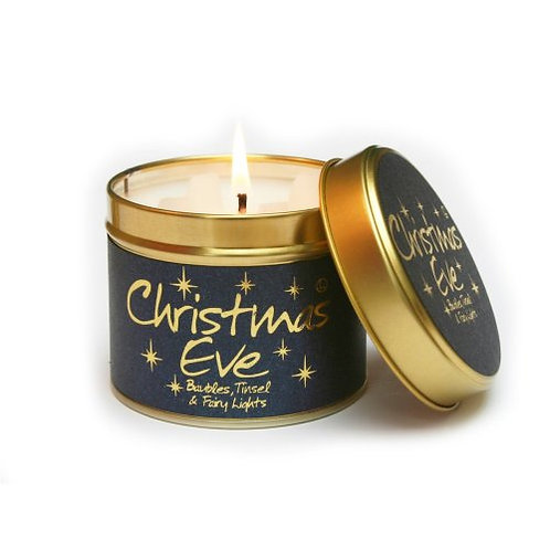 Lily Flame - Scented Tin Candle - Christmas Eve