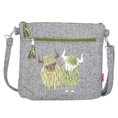 Lua - Highland Cow Messenger Bag