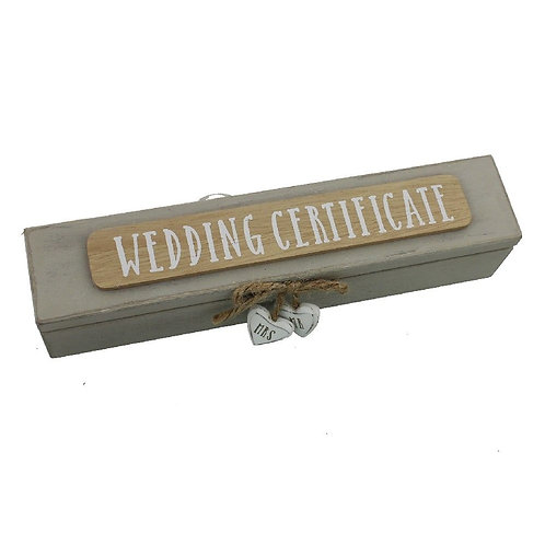 Wedding Certificate Holder