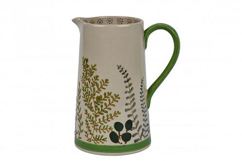 Botanical Leaf Ceramic Jug