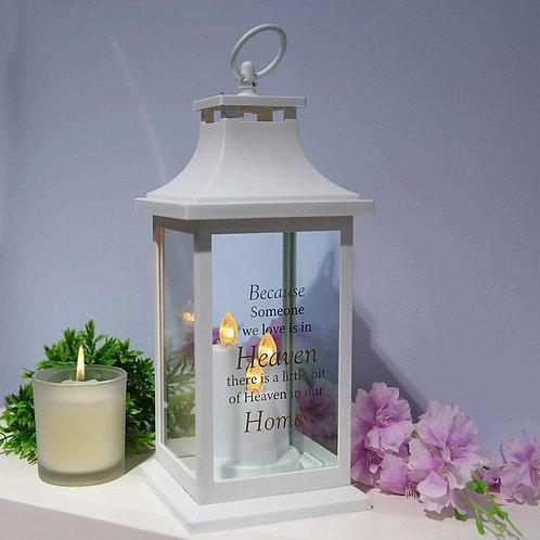 'Because Someone We Love' Lantern
