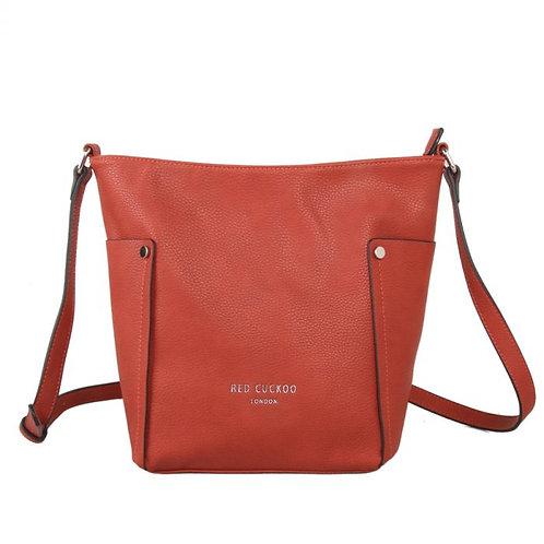 Red Cuckoo - Rust Cross Body Bag