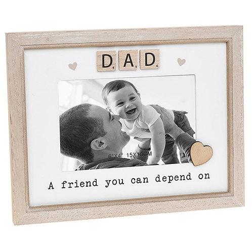 Dad - Scrabble Frame