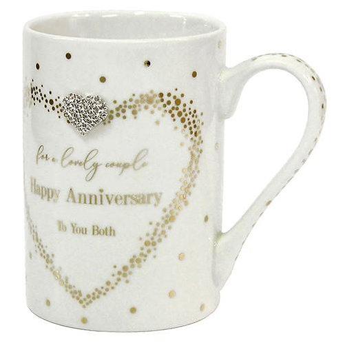 Happy Anniversary - Boxed Set of 2 Mugs